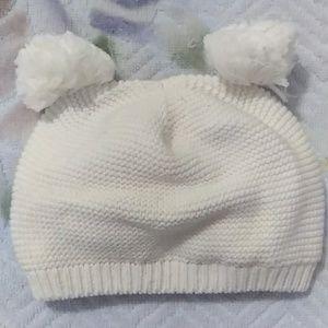 ZARA Pompom Baby Beanie